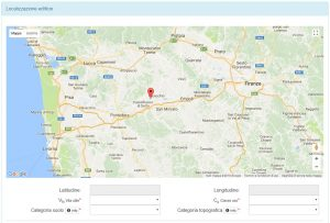 parametri sismici da mappa interattiva - ingegnerone.com
