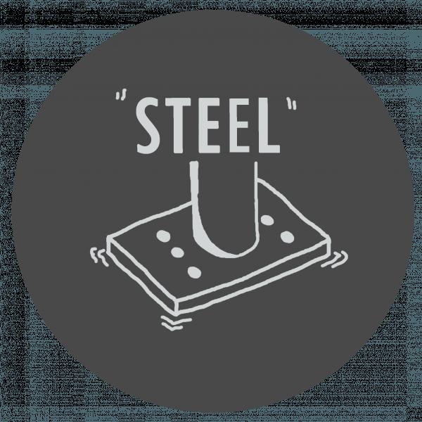 collegamento acciaio piastra di base - ingegnerone.com