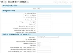 app screen - architrave metallica - ingegnerone.com