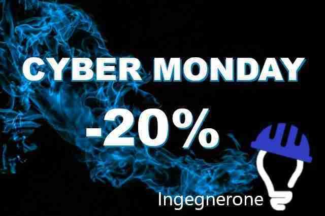 Cyber Monday – 20 % di sconto su tutti gli abbonamenti